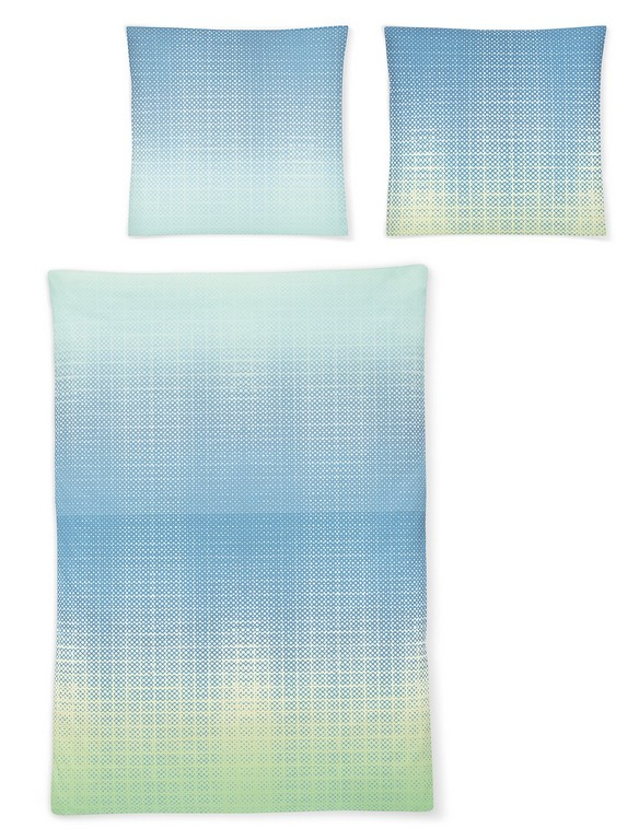 Irisette Mako Satin Bettwsche 8491 20 Blau with regard to dimensions 1140 X 1500