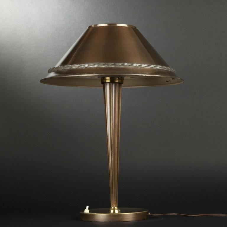 Jean Perzel Lampe De Bureau within dimensions 2840 X 2840