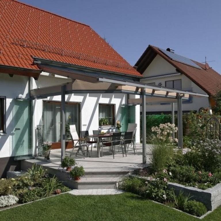 Kaltwintergarten Verschnert Eine Terrasse Bei Forchheim Baumann regarding size 900 X 900