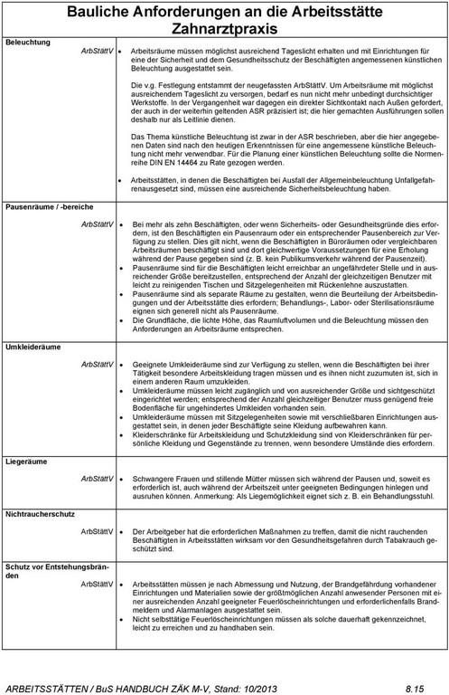 Kap 8 Bauliche Anforderungen An Arbeitssttten Pdf pertaining to sizing 960 X 1484