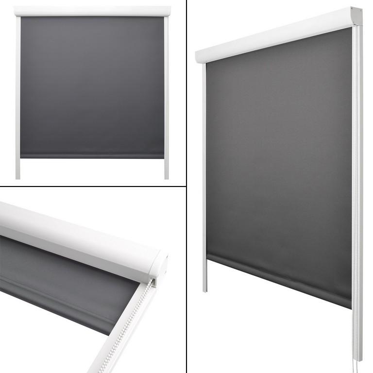 Kassettenrollo Thermorollo Verdunkelungsrollo Ohne Bohren Fenster with proportions 1500 X 1500