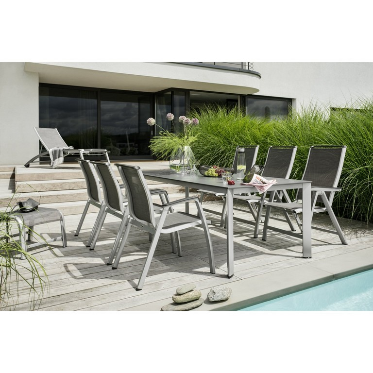 Kettler Gartenmbel Set Mit Sessel Hocker Und Rollliege Forma Ii with proportions 1900 X 1900