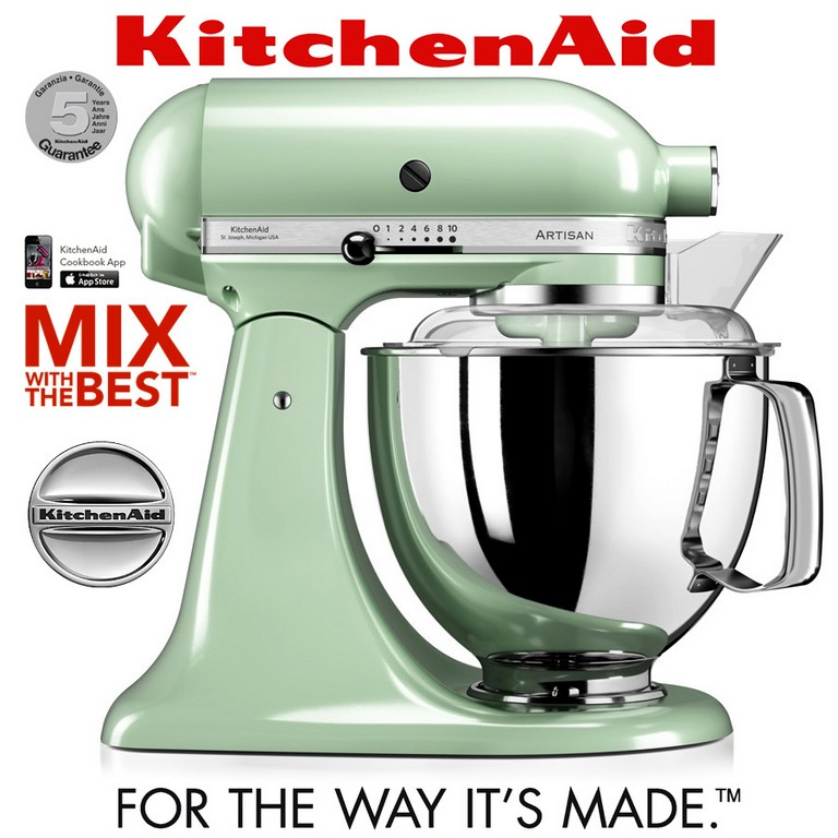 Kitchenaid Artisan Kchenmaschine 5ksm175ps Pistazie Ka with regard to sizing 900 X 900