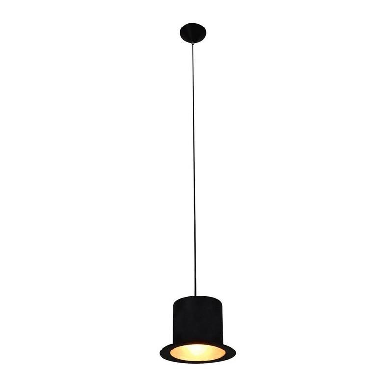 Klassische Moderne Pendelleuchte Einfache Schwarz Hut Form Anhnger with regard to size 1000 X 1000