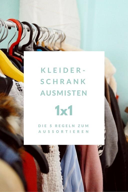 Kleiderschrank Ausmisten 1x1 Die 5 Regeln Zum Aussortieren throughout sizing 735 X 1102