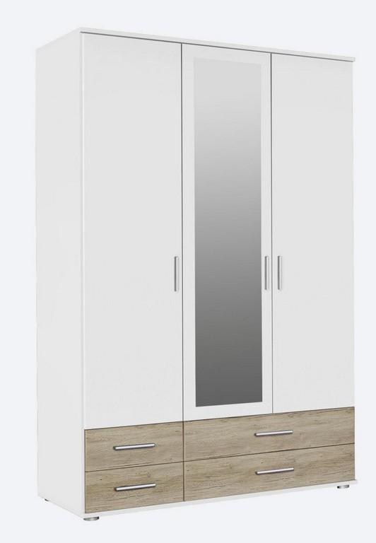 Kleiderschrank Landhausstil Mit Aufbauservice Und Kleiderschrnke pertaining to size 831 X 1200