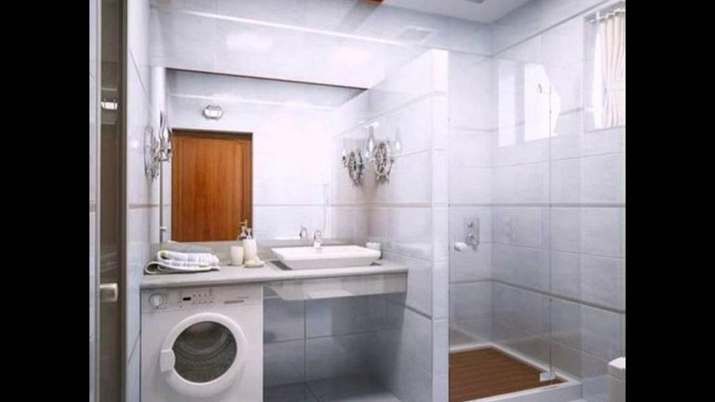 Kleines Bad Gestalten Und Dekorieren Interessante Waschmaschine with dimensions 1280 X 720