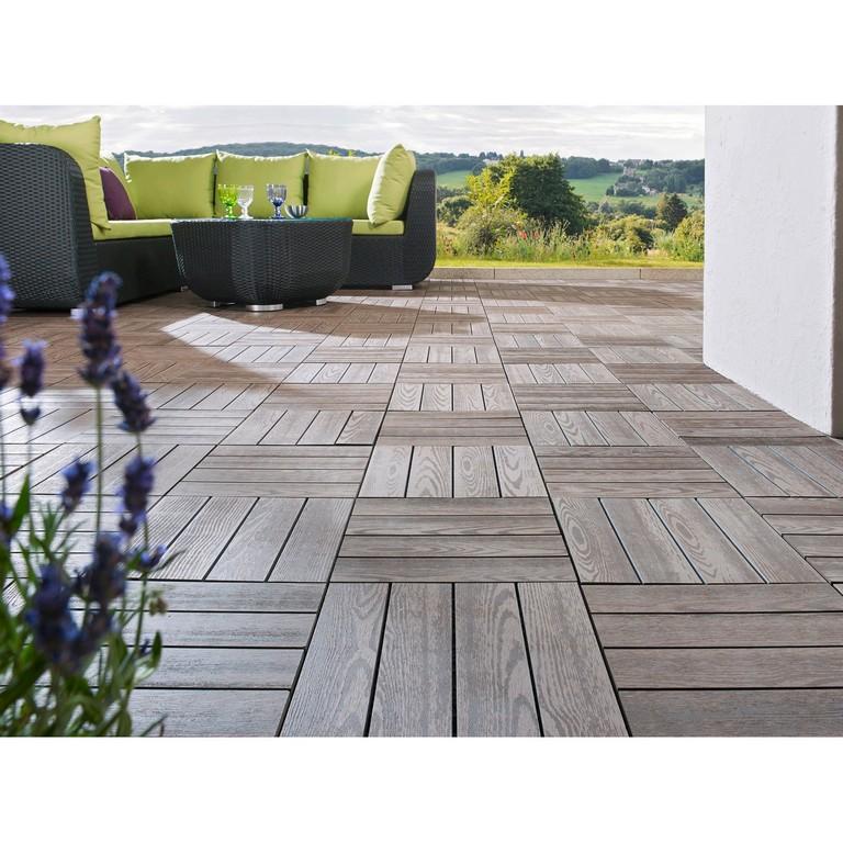 Klick Fliese Wpc Holzstruktur Optik 30 X 30 Cm 6 Stck Kaufen Bei Obi throughout proportions 1500 X 1500