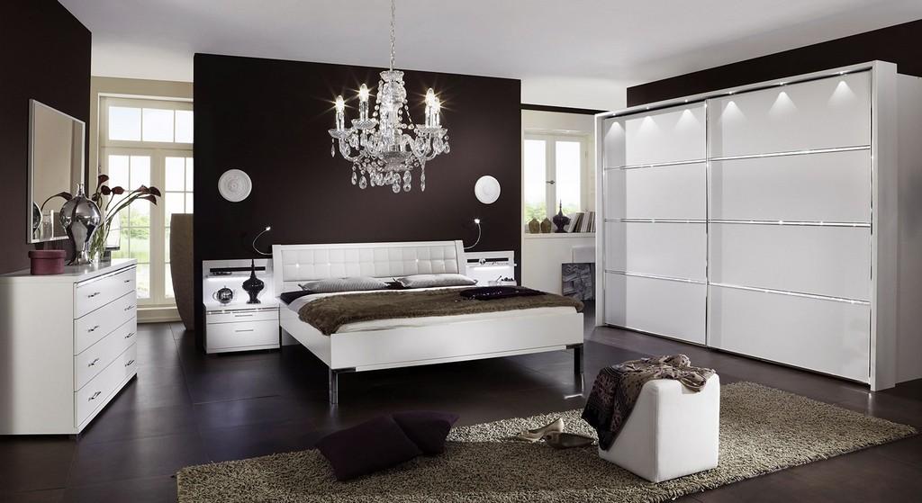 Komplette Design Schlafzimmer Gnstig Kaufen Bettende inside size 1600 X 873