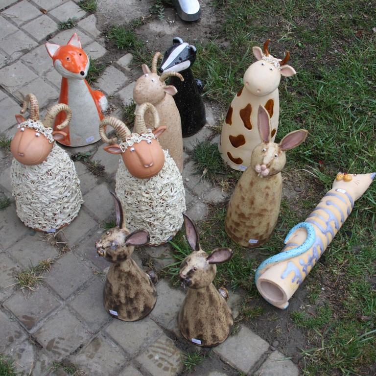 Keramik Kunst Für Den Garten keramik kunst für den garten - haus ideen