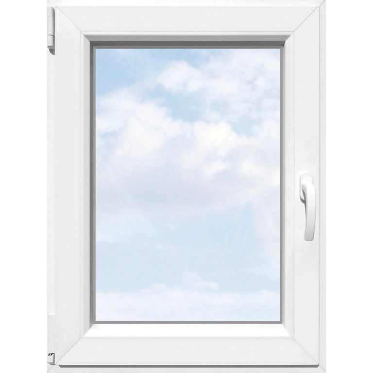 Kunststoff Fenster 2 Fach Glas Uw 15 Wei B 75 Cm H 120 Cm regarding proportions 1500 X 1500