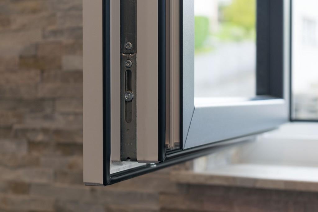 Kunststoff Fenster In Wei Und Anthrazit Schreinerei Pracht throughout dimensions 3000 X 2000