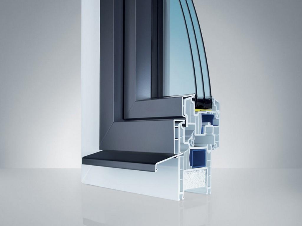 Kunststoffaluminium Fenster Topdesign Innenausbau throughout size 1140 X 855