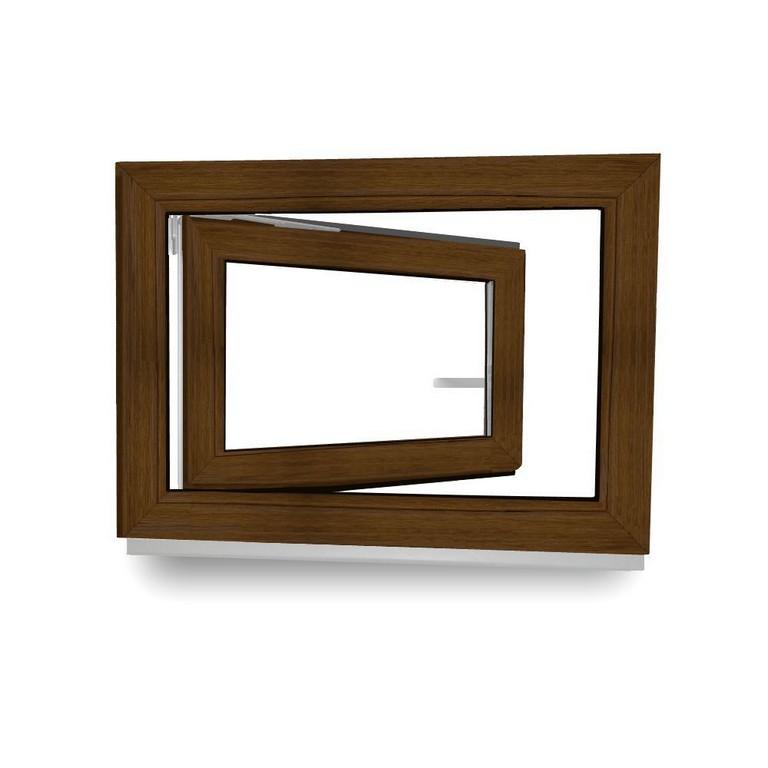 Kunststofffenster Kellerfenster Fenster Braun Nussbaum 2 Fach pertaining to size 1000 X 1000