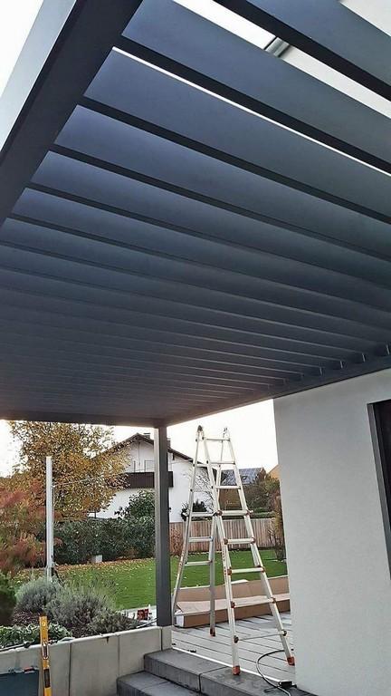 Lamellendach Einfach Optimaler Sonnen Und Wetterschutz Mit Der throughout proportions 750 X 1334