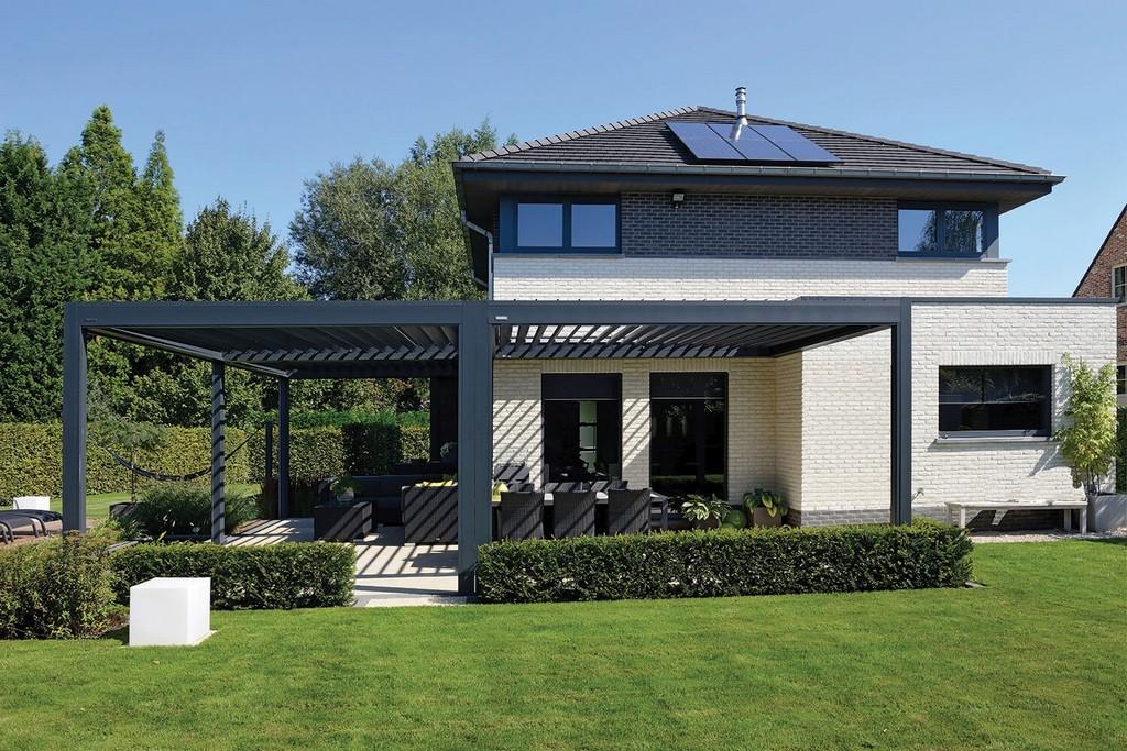 Lamellendach Fr Terrasse Und Garten Gibt Es Bei Gtler within measurements 1500 X 1000