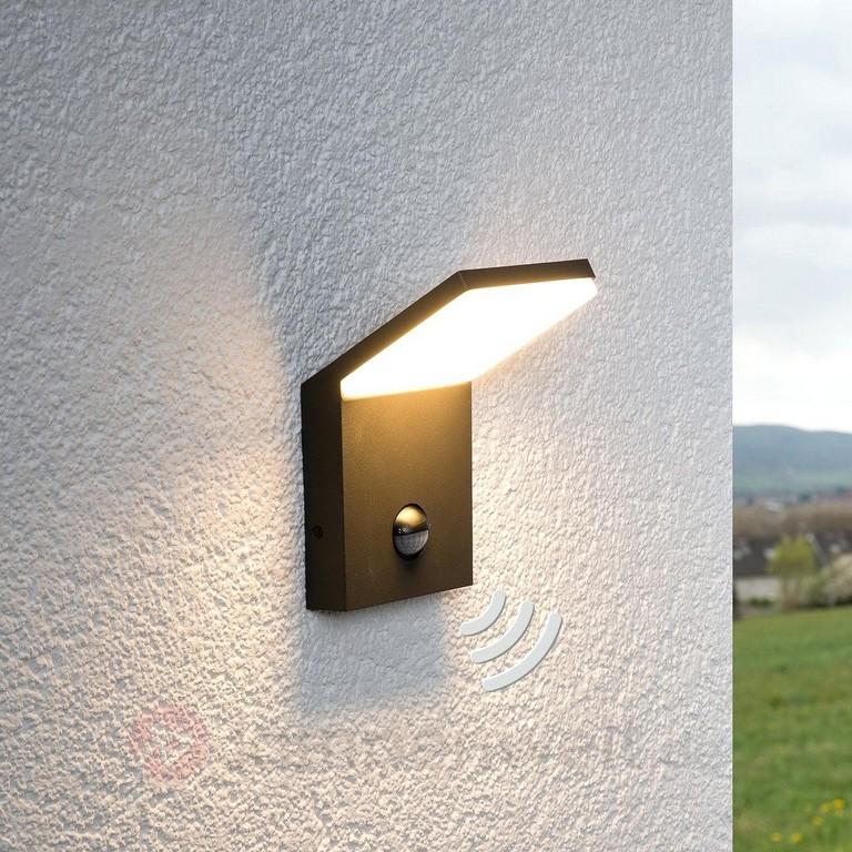 Lampe Mit Bewegungsmelder Led Aussenwandleuchte Nevio Bezieling within size 1200 X 1200