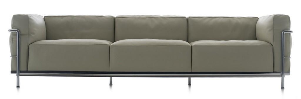 Lc3 Sofa Dreisitzer Cassina Einrichten Designde intended for size 1675 X 552