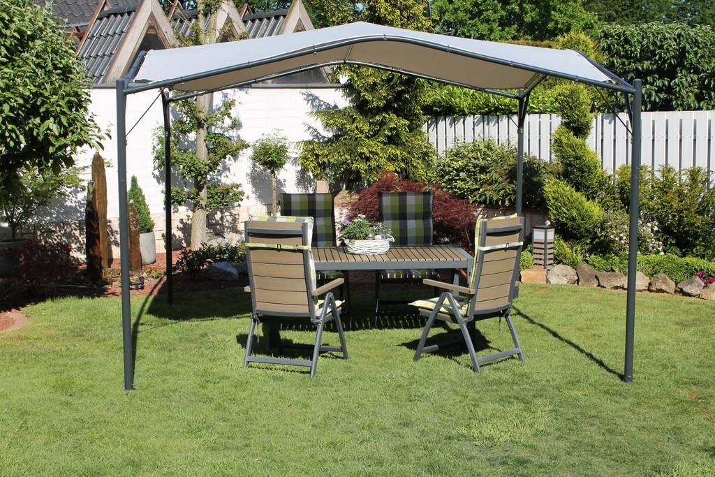 Leco Pavillon Modern Trend Terrassen Garten Berdachung Sonnenschutz inside proportions 1600 X 1067