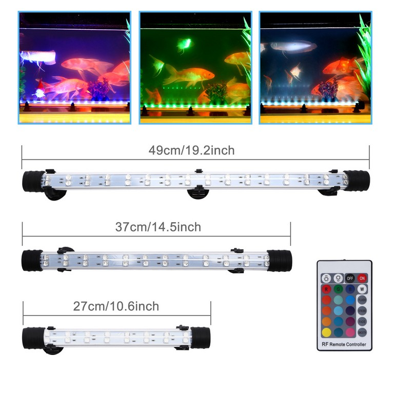 Led Aquarium Beleuchtung Aufsatzleuchte 5050 Led Rgb Lamp in measurements 1500 X 1500