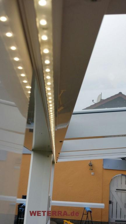 Led Beleuchtung Zubehr Weterra Terrassendcher inside proportions 900 X 1600