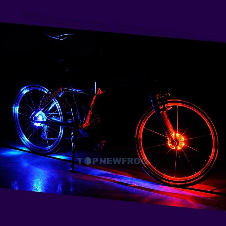 Led Fahrrad Speichenlicht Beleuchtung Speichen Licht Reflektor Ip55 with regard to sizing 1001 X 1001