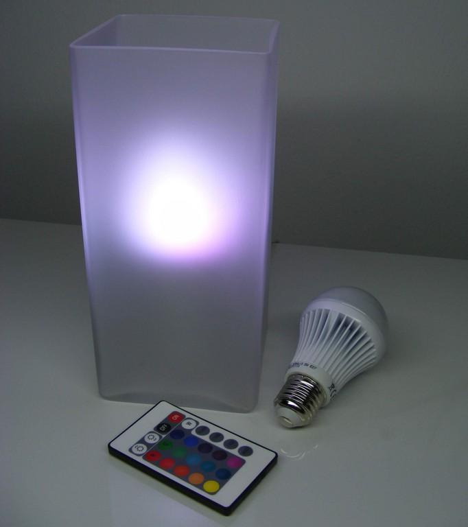 Led Farbwechsel Lampe Mit Fernbedienung Im Test throughout dimensions 2448 X 2757