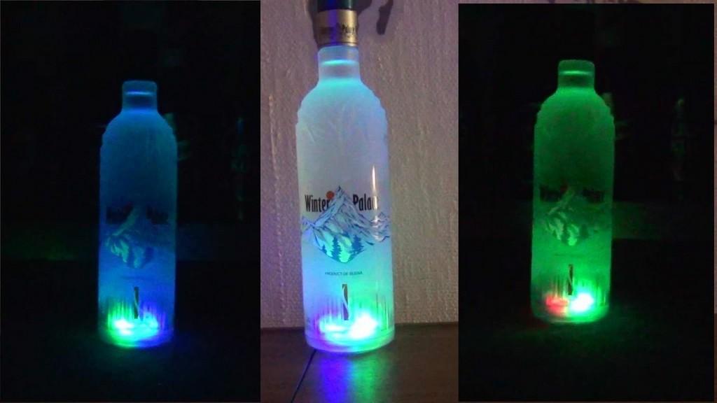 Led Flaschen Beleuchtung Dekoration Bild Idee with dimensions 1280 X 720