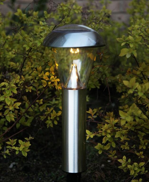 Led Solar Gartenlampe Edelstahl Oder Kupfer Lampe 6 Leds 14 Lumen with proportions 818 X 1001