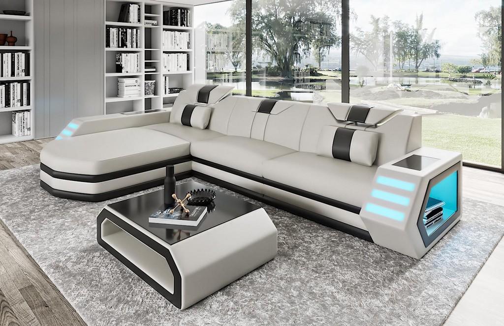 Ledersofa Design Sofa Couch Polster Sitz Wohnlandschaft Ecksofa Big regarding dimensions 1600 X 1036