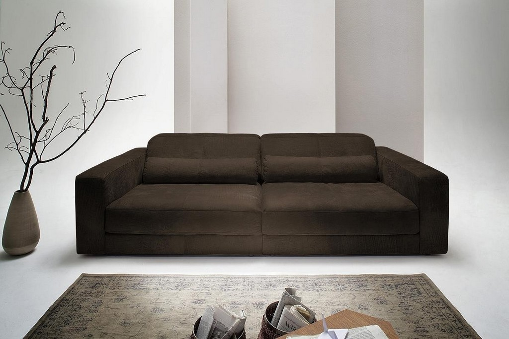 Ledersofa Gigant Kissen Leder Anthrazit Sofa Outlet regarding sizing 1200 X 800