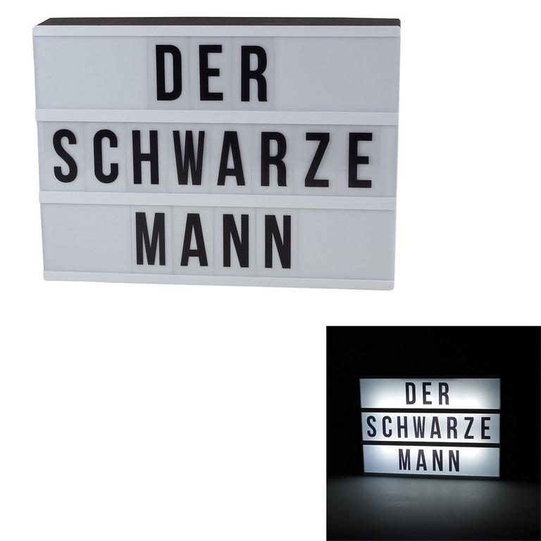 Leuchtkasten Led Mit Batteriebetrieb Inklbuchstabensymbole Lampe pertaining to proportions 1600 X 1600