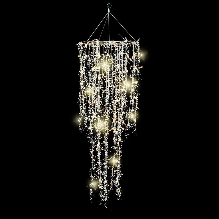 Lichterkette Mit 226 Led Als Lampe Deko Fr Innen Wohnzimmer in proportions 1600 X 1600