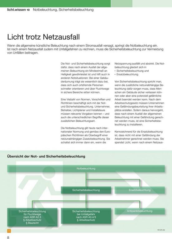 Lichtwissen 10 Freier Download Auf Notbeleuchtung in size 960 X 1335
