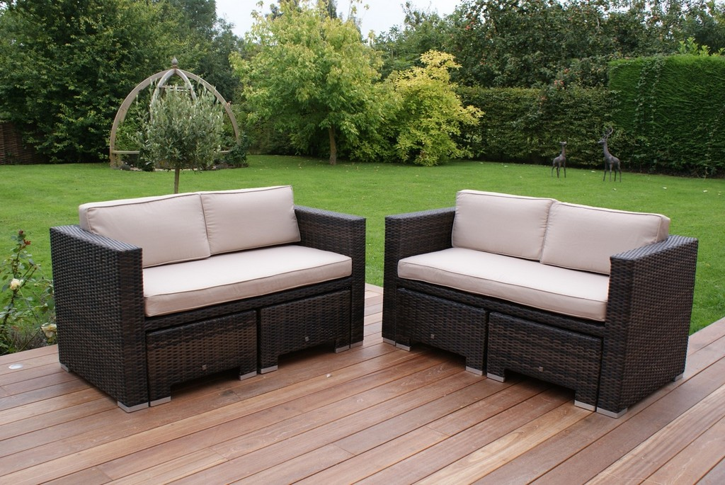 Madrid 4 8 Seater Rattan Cube Sofa Set regarding sizing 1494 X 1000