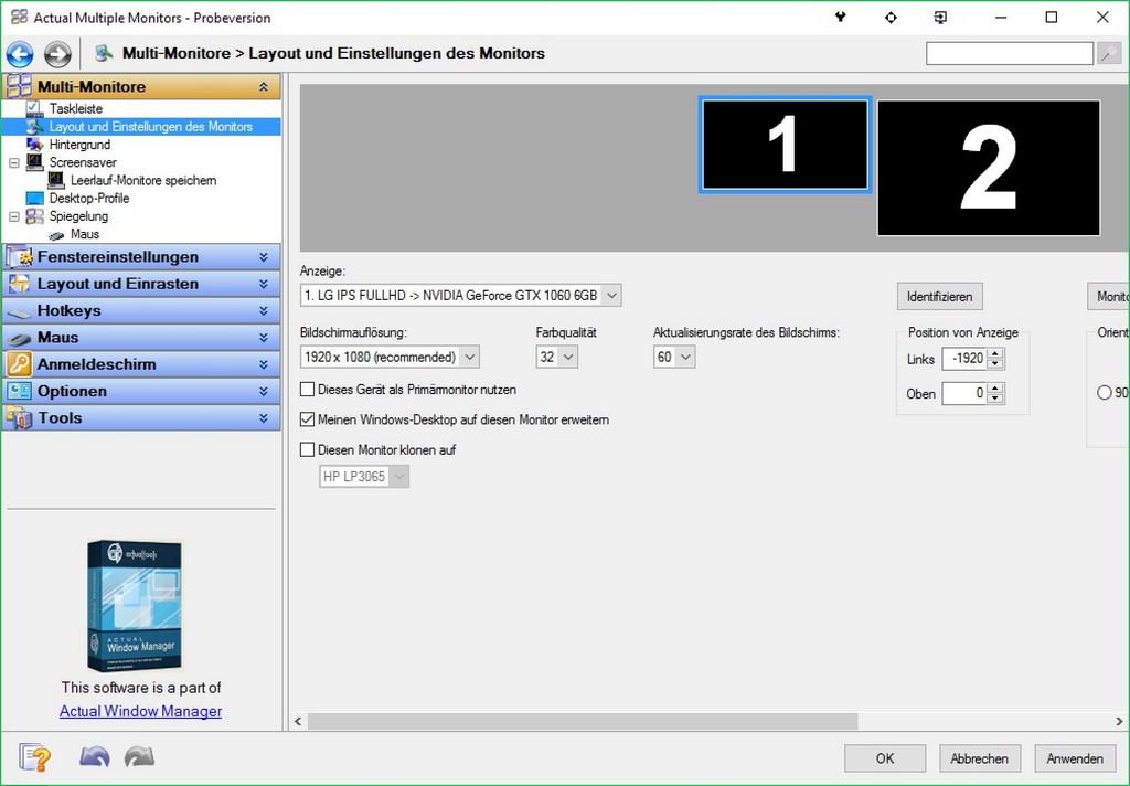 Mehrere Monitore Perfekt Nutzen So Gehts Pc Welt in size 2020 X 1404