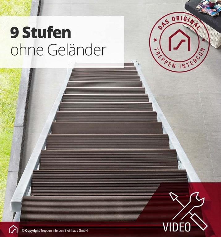 Metalltreppen Als Ideale Auentreppen Fr Den Balkon Garten regarding sizing 950 X 1020