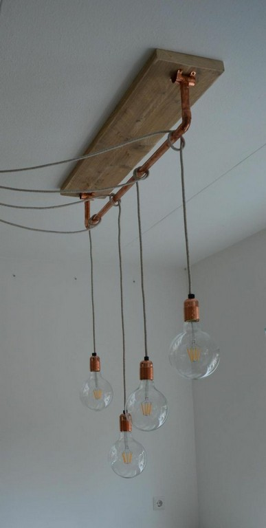 Mit Glhbirnen Am Kabel Knnen Sie Lampen Versetzt Anbringen Fee throughout proportions 750 X 1487