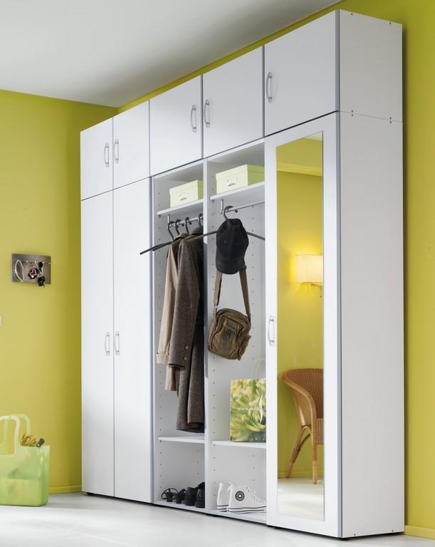 Modern Garderobenschrank Wei Wirtschaftsraumwunder Xxl intended for dimensions 1600 X 2012