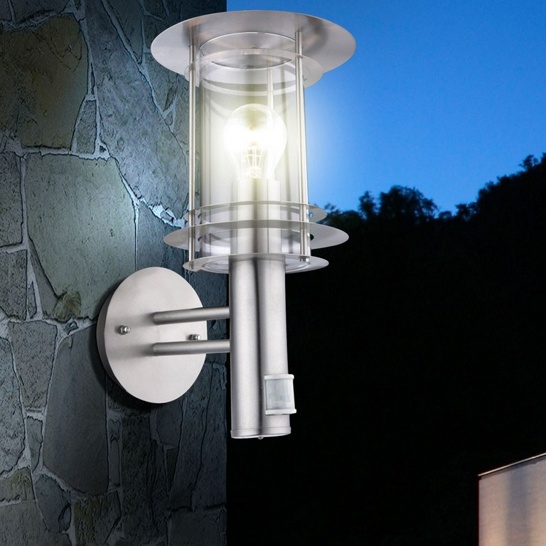 Moderne Auenwandlampe Mit Bewegungsmelder Miami Lampen Mbel throughout sizing 1000 X 1000