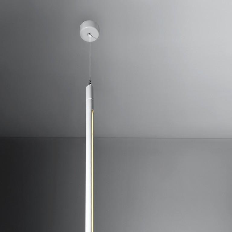 Moderne Vertikal Gehngte Leuchte Mit Neonrhre regarding sizing 1000 X 1000