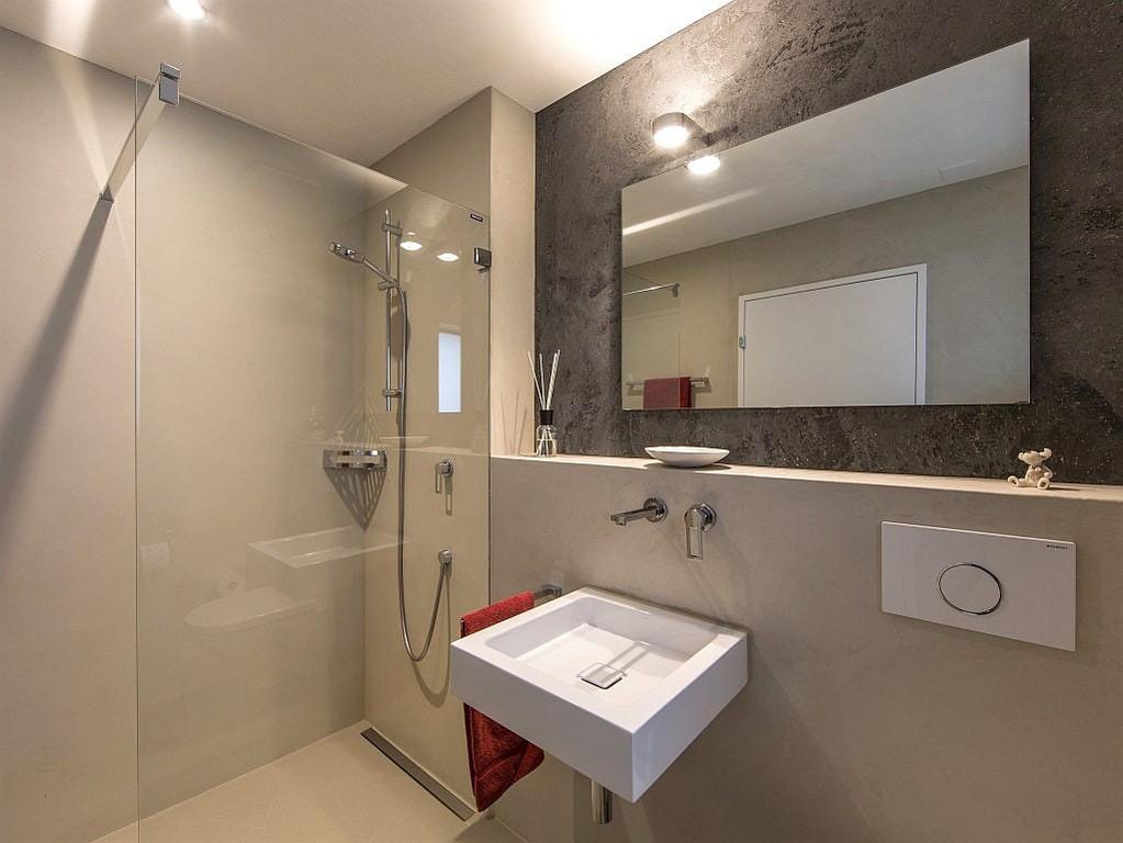 Modernes Badezimmer Ohne Fliesen Schn Wunderschne Inspiration pertaining to size 1024 X 769