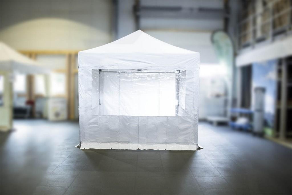 Mvl Tent Seitenwand Mit Fenster 3m Und Klettverschluss System pertaining to proportions 1200 X 800