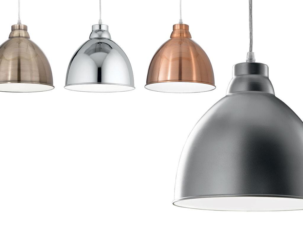 Navy Aufgehngte Lampe Mit Diffusor Aus Metall within sizing 1024 X 768