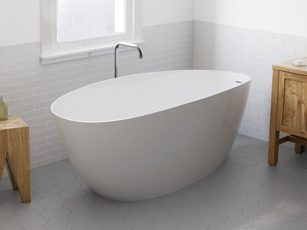 Neu Bei Elements Zu Entdecken Die Freistehende Badewanne Tulpe within proportions 1075 X 806