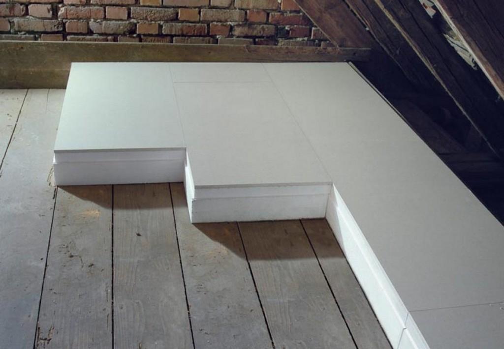 Neues Verbund Dachbodendmmelement Von Knauf Aus 125 Mm throughout sizing 1144 X 793