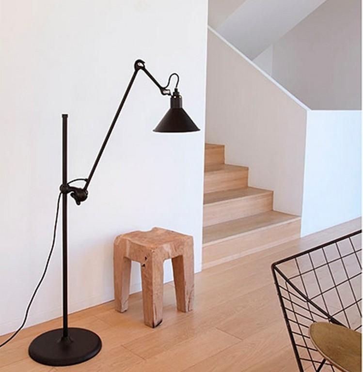 No 215 L Gulvlampe H123cm Sort Lampe Gras Nova Mbler with regard to size 930 X 953