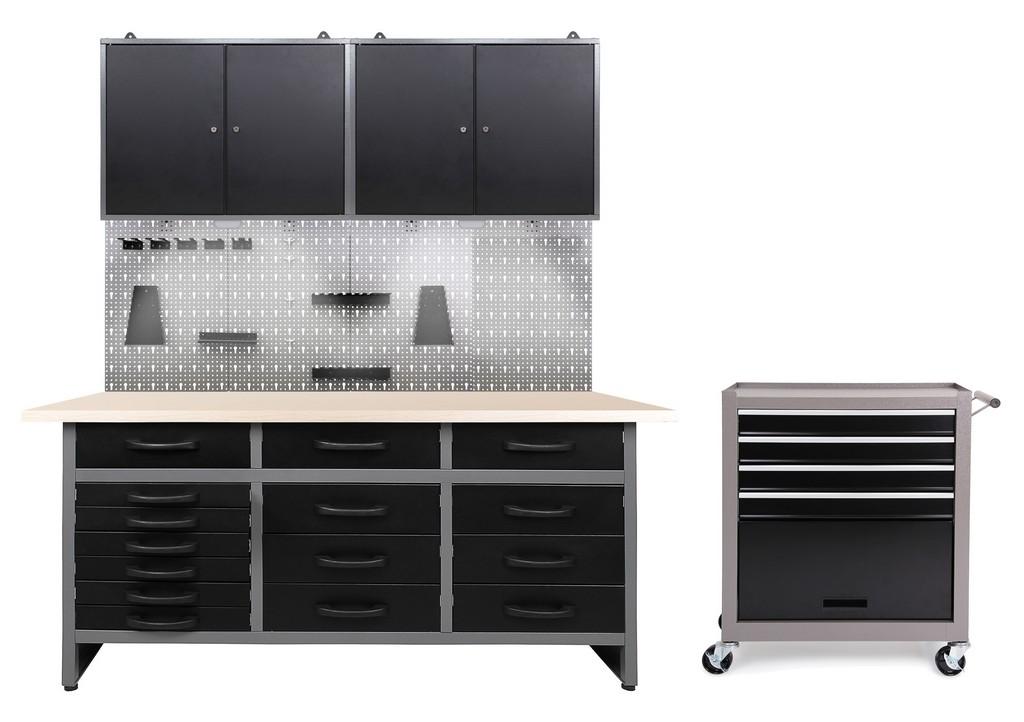 Ondis24 Werkstatt Set Konny 2 Schrnke Werkstatteinrichtung Led pertaining to dimensions 2268 X 1600