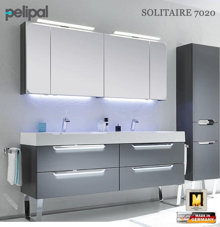 Pelipal Solitaire 7020 Badmbel Set Mit 1710 Mm Doppelwaschtisch inside size 1103 X 1136
