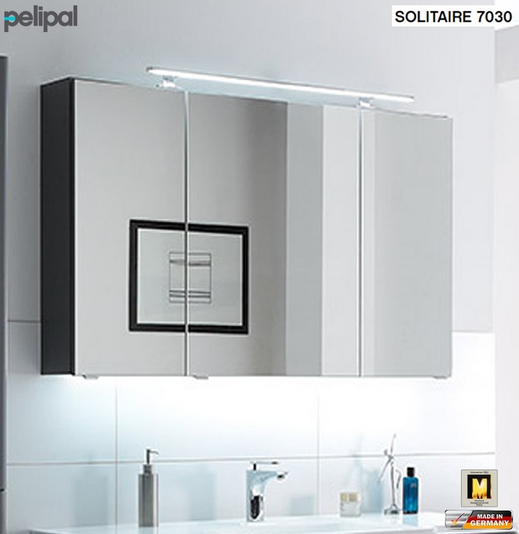 Pelipal Solitaire Spiegelschrank Cm Mit Led Profil Fur Stunning throughout size 1103 X 1136